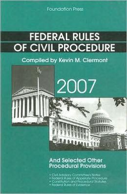 Federal Rules of Civil Procedure 2008