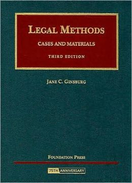 Legal Methods:Cases and Materials