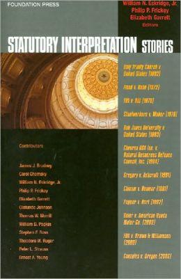 Statutory Interpretation Stories