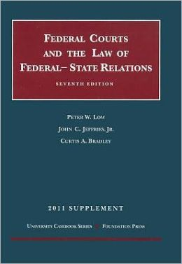 The\Federal Courts and the Law of Federal-State Relations