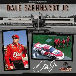 2008 Dale Earnhardt Jr. Wall Calendar