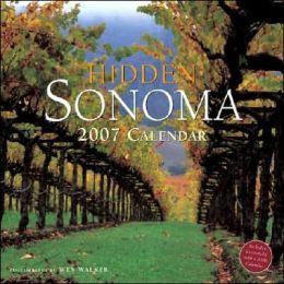 Hidden Sonoma 2007 Calendar