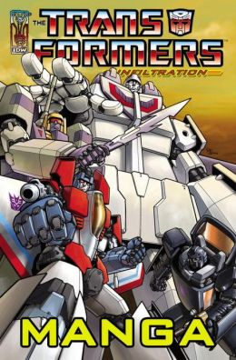 Transformers: Infiltration Manga