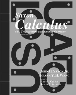 Saxon Calculus: Homeschool Kit Second Edition