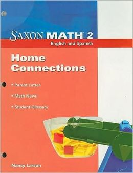 Saxon Math 2: Home Connections