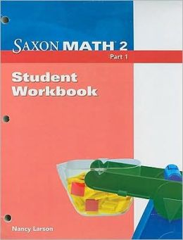 Saxon Math 2 Part 1, Student Workbook