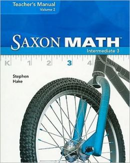 Saxon Math Intermediate 3, Volume 2