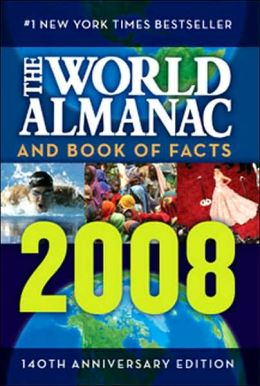 The World Almanac and Book of Facts 2008 World Almanac Books and C. Alan Joyce