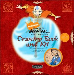 Nickelodeon Avatar: The Last Airbender Drawing Book and Kit: Includes Everything You Need to Draw Your Favorite Characters