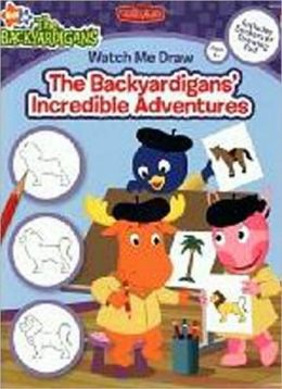 Watch Me Draw Nick Jr.'s The Backyardigans' Incredible Adventures