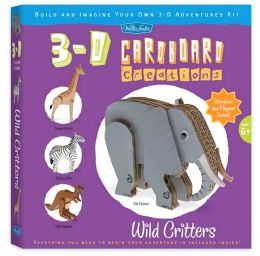 Wild Critters: Build and Imagine Your Own 3-D Adventures Kit
