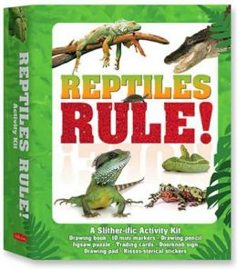 Reptiles Rule!: A Slither-ific Activity Kit