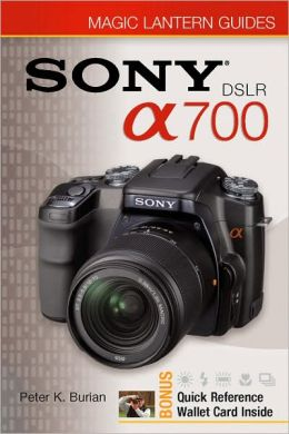 Magic Lantern Guides: Sony DSLR A700