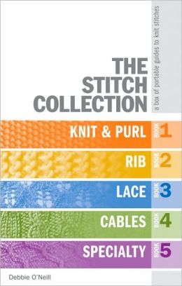 Knit Stitch Dictionary By Debbie Tomkies : The Stitch Collection: A Box of Portable Guides to Knit Stitches by Debbie O&...