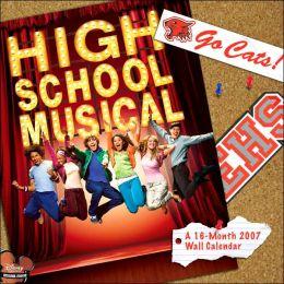 2007 High School Musical Wall Calendar
