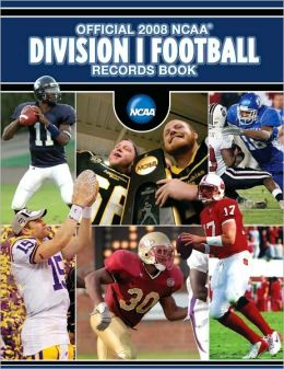 Official 2008 NCAA Football Records BK