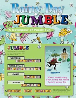 Rainy Day Jumbles: A Downpour of Jumble Fun