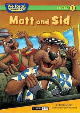 We Read Phonics-Matt and Sid