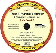 We Both Read-The Well-Mannered Monster Audio Book