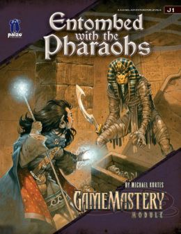 GameMastery Module J1: Entombed with the Pharaohs