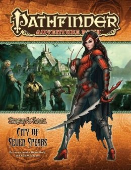 Pathfinder Adventure Path #39: The City of Seven Spears (Serpent's Skull 3 of 6)