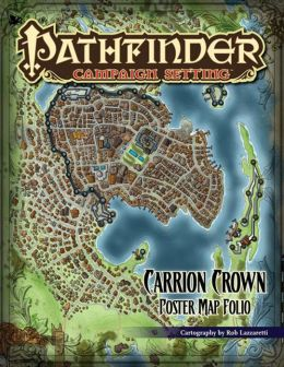 Pathfinder Campaign Setting: Carrion Crown Poster Map Folio