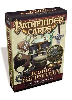 Pathfinder Cards: Iconic Equipment 3 Item Cards Deck