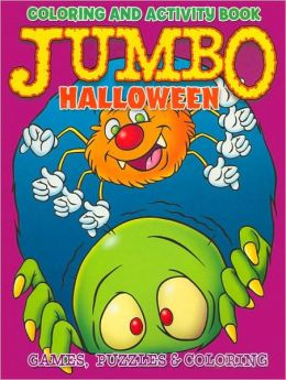 Jumbo Halloween Coloring and Activity Book