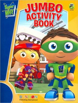 Super Why Jumbo Activity Book