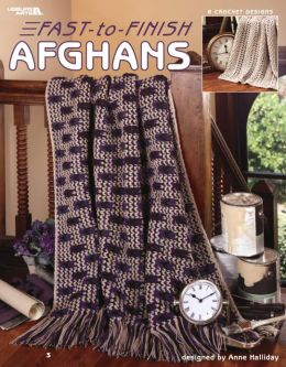 Fast-to-Finish Afghans (Leisure Arts #3586)