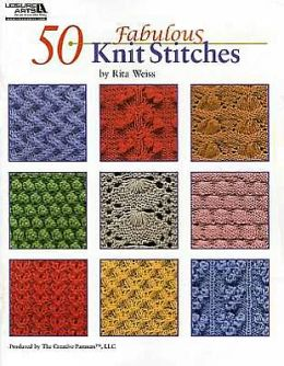 50 Fabulous Knit Stitches (Leisure Arts #4280)
