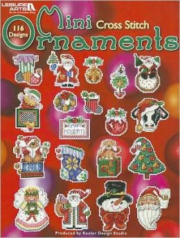 Mini Cross Stitch Ornaments