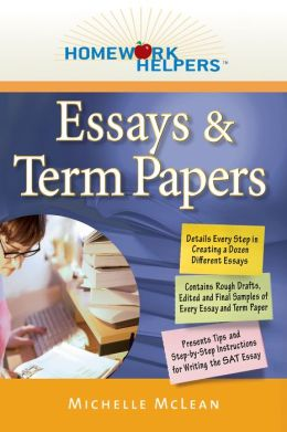 Homework Helpers: Essays & Term Papers