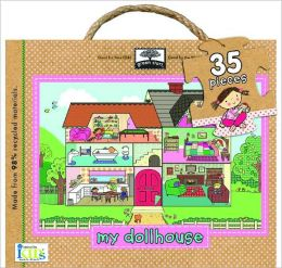 Green Start Giant Floor Puzzle: My Dollhouse