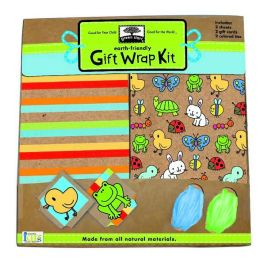 Green Start Gift Wrap Kits: Backyard Babies - From Earth Friendly Materials