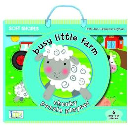 Soft Shapes Chunky Puzzle: Busy Little Farm: (Foam Puzzle and Playset)