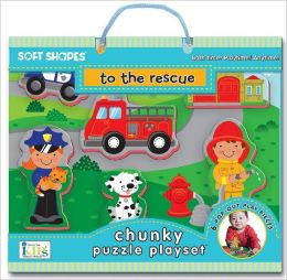 Soft Shapes Chunky Puzzle Playset: to the rescue (Foam Puzzle and Playset)