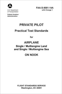 Private Pilot Practical Test Standards for Airplane Single / Multiengine Land and Single / Multiengine Sea on Nook