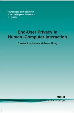 End-User Privacy In Human-Computer Interaction