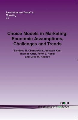 Choice Models In Marketing