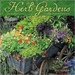 2011 Herb Gardens Wall Calendar