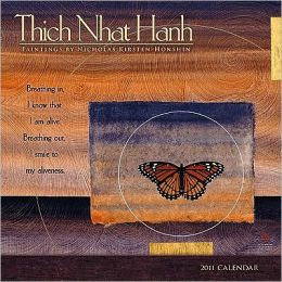 2011 Thich Nhat Hanh Wall Calendar