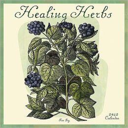 2012 Healing Herbs Wall Calendar