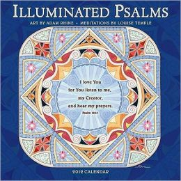 2012 Illuminated Psalms Wall Calendar