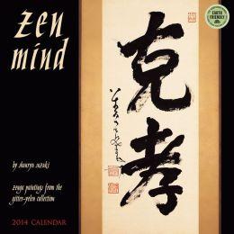 2014 Zen Mind Wall Calendar