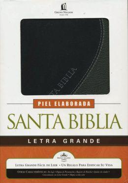 Biblia letra grande - Piel especial