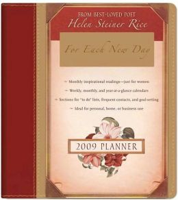 2009 Planner: For Each New Day