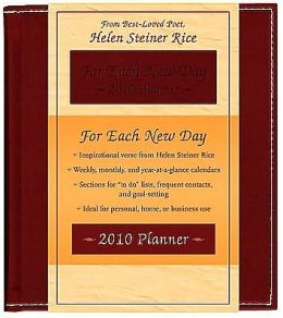For Each New Day Planner