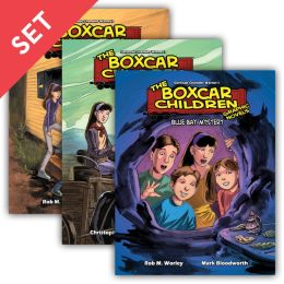 The Boxcar Children Graphic Novels Boxed Set: Books #1-6