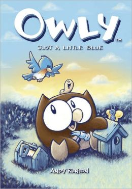 Just a Little Blue (Owly Series #2)